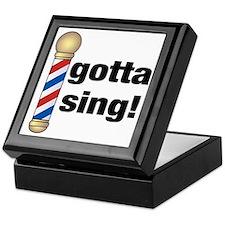 Gotta Sing Barbershop Keepsake Box