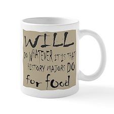 Homeless History Major Mug