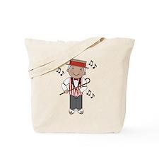 Little Barbershop Singer Tote Bag