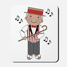 Little Barbershop Singer Mousepad