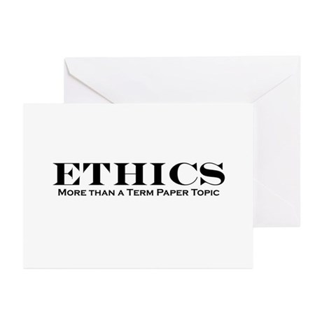 Ethics of term paper services