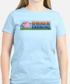 I'd Rather be Farming 2 T-Shirt