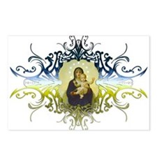 """Holy Mary, Mother of God"" Postcards (Package of 8"