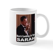 HERE'S LOOKING AT YOU Mug