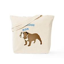 Bulldog Mom Tote Bag