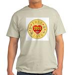 USCG True Love Golden Seal Ash Grey T-Shirt