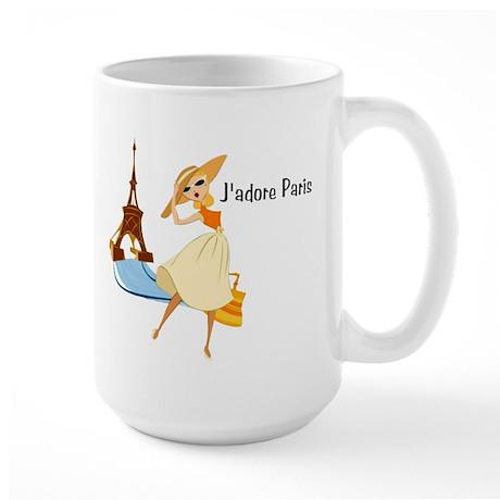 J'Adore Paris Large Mug
