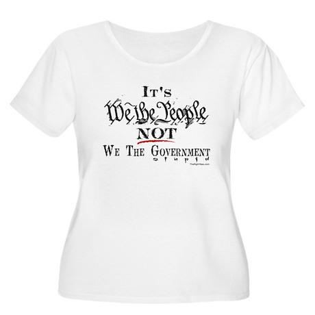 2-ItsWeThePeopleStupid Plus Size T-Shirt