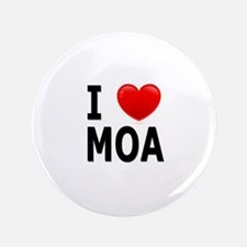 """I Love MOA 3.5"""" Button (100 pack)"""