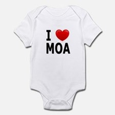 I Love MOA Infant Bodysuit