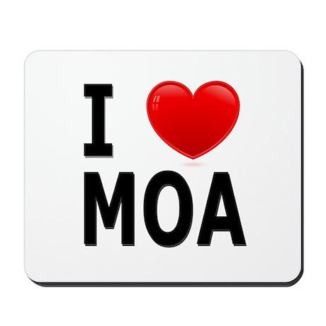 I Love MOA Mousepad