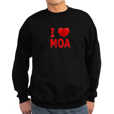I Love MOA Sweatshirt (dark)