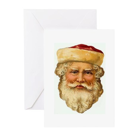 Santa Greeting Cards (Pk of 20)