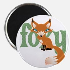 Foxy Red Magnet