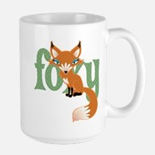 Foxy Red Large Mug