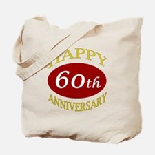 Happy 60th Anniversary Tote Bag
