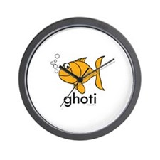 Ghoti Wall Clock