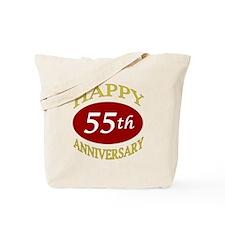 Happy 55th Anniversary Tote Bag
