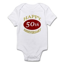Happy 50th Anniversary Infant Bodysuit