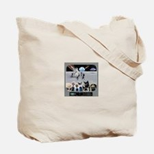 Cat Moon Party Tote Bag