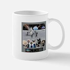Cat Moon Party Mug