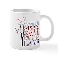 Lion Loves Lamb Quote Twiligh Mug