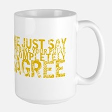 Gifts for Contrarians Large Mug