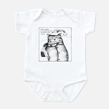 Holiday Haiku Cat Infant Bodysuit