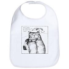 Holiday Haiku Cat Bib