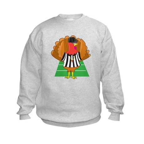 Turkey Referee Kids Sweatshirt