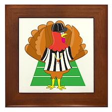 Turkey Referee Framed Tile