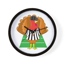Turkey Referee Wall Clock