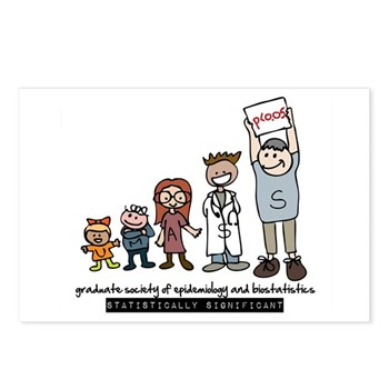 GSEB Postcards (Package of 8)