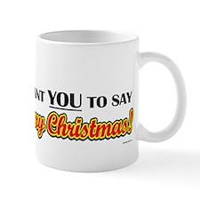 Uncle Sam - I Want You to say Mug