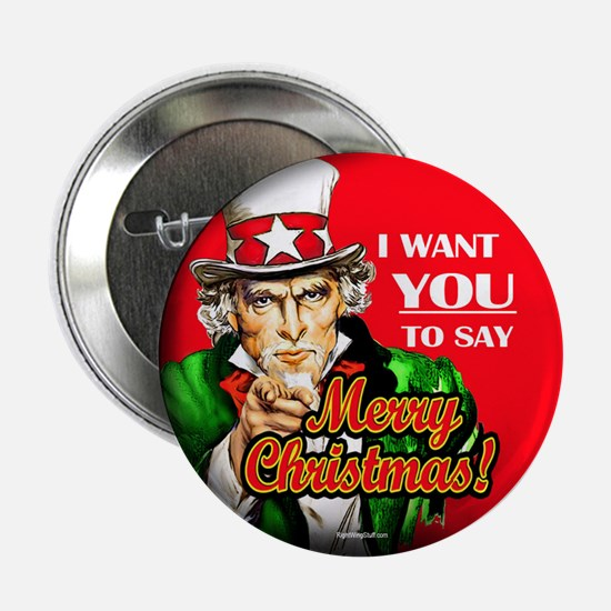 "Uncle Sam - I Want You to say 2.25"" Button (10 pac"