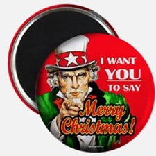 """Uncle Sam - I Want You to say 2.25"""" Magnet (10 pac"""