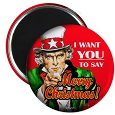 """Uncle Sam - I Want You to say 2.25"""" Magnet (100 pa"""