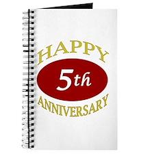 Happy 5th Anniversary Journal