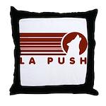 La Push Wolf Throw Pillow