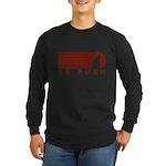 La Push Wolf Long Sleeve Dark T-Shirt