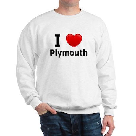 I Love Plymouth Sweatshirt