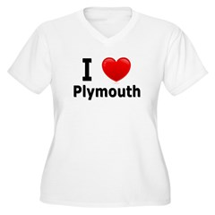 I Love Plymouth T-Shirt