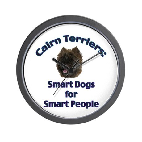 Cairn Terriers Wall Clock