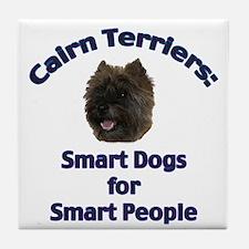 Cairn Terriers Tile Coaster