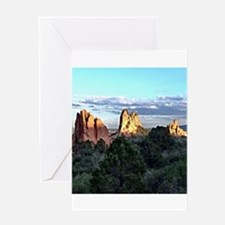 Garden of the Gods Greeting Cards