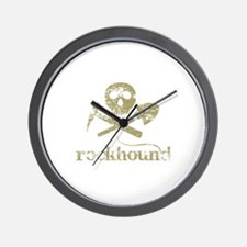 Rockhound Wall Clock