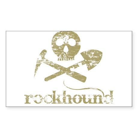Rockhound Rectangle Sticker