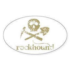 Rockhound Oval Decal