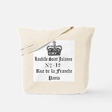 PARIS FRANCE CROWN Tote Bag