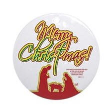 Merry Christmas! Ornament (Round)